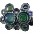 Many Lenses — Stock Photo