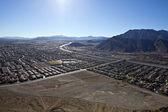 Lone Mountain View Nevada — Stockfoto