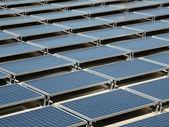 Solar Panel Roof — Stock Photo