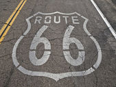 Route 66 Faded — Stock Photo