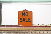 No Sale — Stock Photo