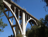 Historic Pasadena Bridge — Stock Photo
