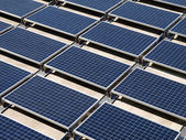 Photovoltaic Solar Panels — Stock Photo