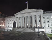 United States Treasury Building - Washington DC — Stock Photo