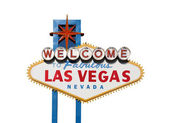 Vegas Sign Isolation — Stock Photo