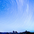 Star Trails over Mono Lake — Stock Photo #7927105