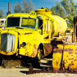 Stock Photo: Yellow Water Truck