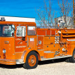 Stock Photo: Vintage Fire Truck