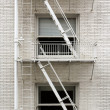 Fire Escape Ladder — Stock Photo