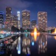 Downtown Los Angeles Skyline — Stock Photo #7933488