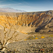 Ubehebe Crater - Stock Photo