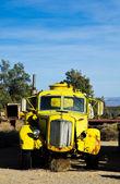 Yellow Water Truck — Stock Photo