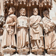 The figures of saints in the Catholic cathedral. — Stock Photo #7921312