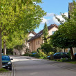 Stock Photo: Residential in small town in Germany. Europe.