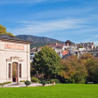 View of the city and Trinkhalle (Pump Room), Baden-Baden, Germany - Stock Photo