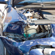 Stockfoto: Cars after crash
