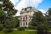 An ancient villa in the city park. Europe, Germany, Baden-Baden. — Stock Photo