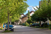 Residential in a small town in Germany. Europe. — Stock Photo