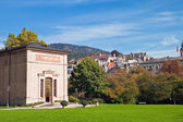 View of the city and Trinkhalle (Pump Room), Baden-Baden, Germany — Stock Photo