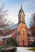 Evangelical Church. Europe, Germany, Baden-Baden — Stock Photo