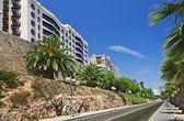 A panoramic view of Tarragona in Spain — Stock Photo