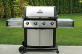 Barbecue grill as a outdoor appliance — Stock Photo