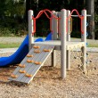 Stock Photo: Slide at playground in a residential area