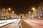 Champs Elysees, Paris, France — Stock Photo