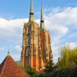 Cathedral in Wroclaw on Tum Island, Poland — Stock Photo #7930256