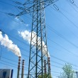 Stock Photo: Electric pylon