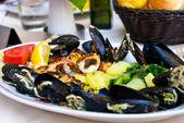 Fruits de mer méditerranéen — Photo