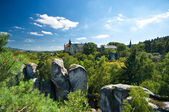 Rock Town in Bohemian Paradise — Stock Photo