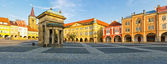 Jicin town square, Czech Republic — Stockfoto