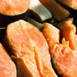 Slices of salmon — Stock Photo
