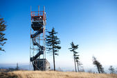 Watchtower on Ruprechticky Spicak, Czech Republic — Stock Photo