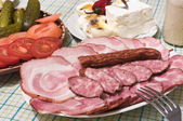 Cold meats — Stock Photo