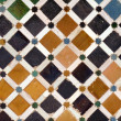 Decorative tiles in Spain — Stock Photo