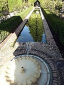 Moorish fountain of Alhambra, Spain — Stock fotografie