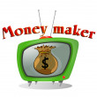 Money maker — Stock Vector #7917901