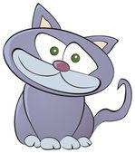 милый кот — Cтоковый вектор