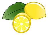 Lemons — Stock Vector