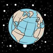 De aarde — Stockvector