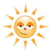 Sun icon — Stock Vector