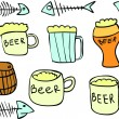 Royalty-Free Stock Vector Image: Vector image of beer collection