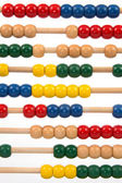 Colourful sliderule — Foto Stock