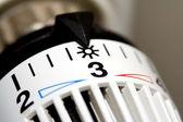 Värmare termostat — Stockfoto
