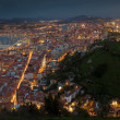 Nightfall in Santurtzi, Bizkaia, Spain — Stock Photo