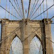 Brooklin bridge, New York, USA — Stock Photo #7920498