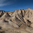 Stock Photo: Landscape of Bardenas reales