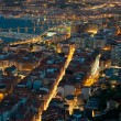 Nightfall in Santurtzi — Stock Photo